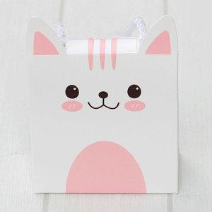 고양이끈상자하트미역1개 어린이집 생일 선물 답례품