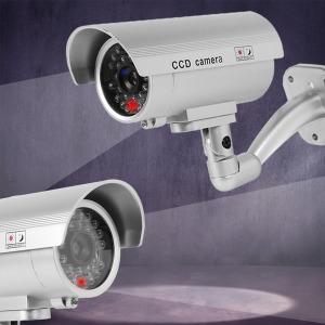 방범용 모형 CCTV/모형 감시카메라/호신용경보기