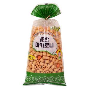 종합마카로니 소 140g/뻥튀기/바삭바삭 고소한맛