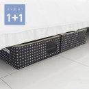 크로스 언더베드 58L 2P /옷/이불정리함/의류수납함
