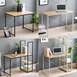 일자형 H형 컴퓨터 책상 사무실 테이블 1인용 학생