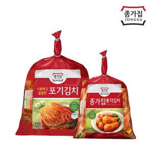 (기획)종가집 포기김치4kg+총각김치2.5kg