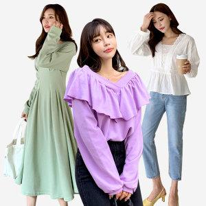달리샵 봄신상12% 원피스 티셔츠 블라우스 여성의류