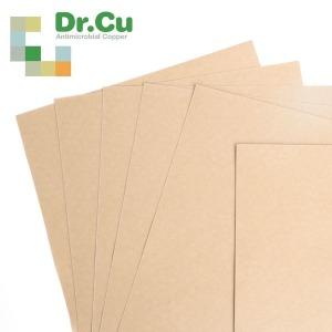 닥터씨유 구리 항균동필름 ICA인증 간편접착식 A4 10매