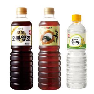 황가양조간장 900ml + 국간장골드 900ml + 물엿 700g