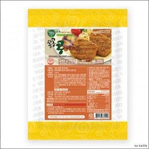 비건 식품 채식 베지 냉동 삼육 콩콩 콩너비안 240g