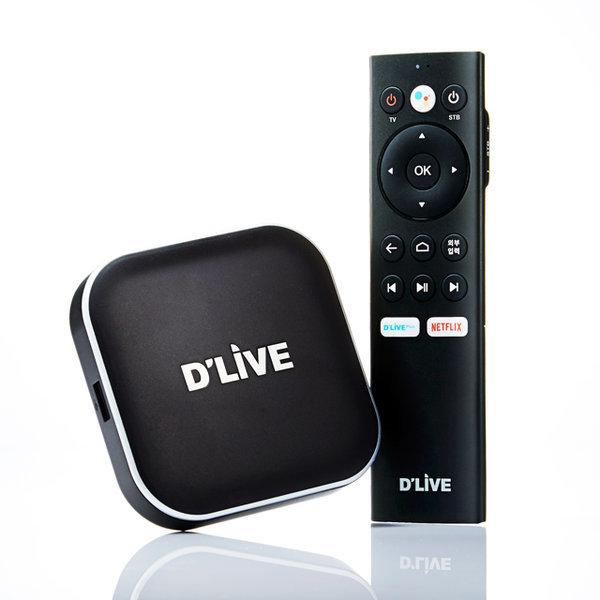 H5 딜라이브UHD4K OTT셋톱박스 유튜브 넷플릭스 미러링