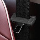 코코아이티 차량용 안전벨트 클립커버 블랙 2p