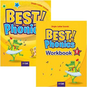 Best Phonics 1 (s+w) 전2권 베스트 파닉스 / 미니노트 증정
