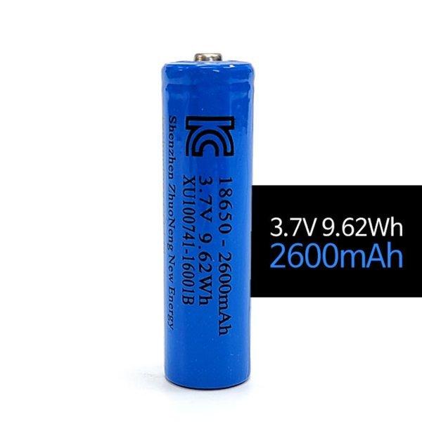 18650 리튬이온배터리 3.7V 2600mAh 충전건전지