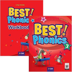 Best Phonics 3 (s+w) 전2권 베스트 파닉스 / 미니노트 증정