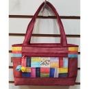 자주/조각가방/모시가방/천가방/한복가방/도트백