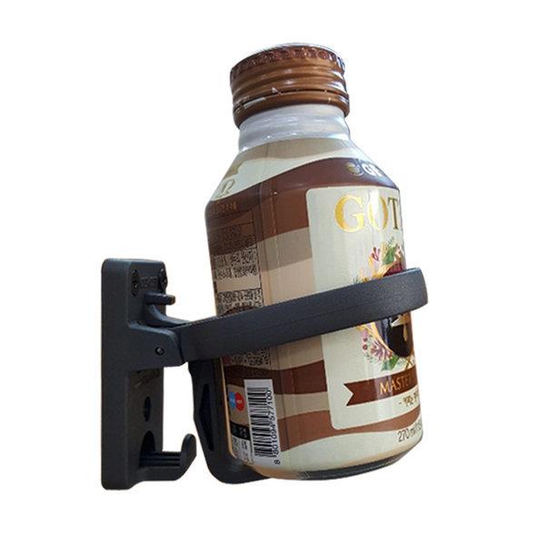 신형 사각 버스 컵홀더/고정형 차량용 접이식 컵걸이