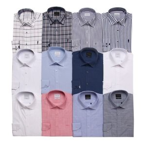 갤러리아  예작  쿨린넨(슬림핏) 긴소매셔츠 15종(YJ0SBS111WH외 14종)
