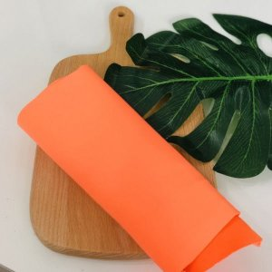 (고급기능성원단)마스크전용 네오플랜원단 주황색