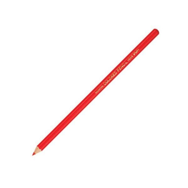 문화)색연필(적색 12개입) 학생색연필 색연필 건축가