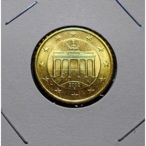 독일 20센트 주화 2002년 부란덴부르크문(au)