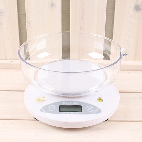 전자저울 경인 KT-3000 / 조리 제빵 요리 계량 저울