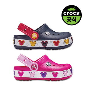 크록스공식 키즈 CROCBAND MICKEY FNLB LIGHTS K 2종 택1 (20SKCL204994)