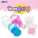 아모스 아이슬라임 300g+진주비즈2봉세트