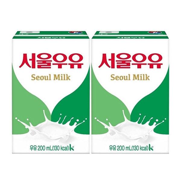 서울우유 200ml x 24팩/멸균우유