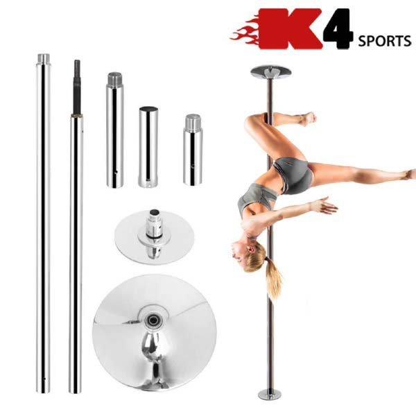 (현대Hmall)K4스포츠아몸디 K4-26 폴댄스 스핀 고정 스포츠댄스 봉품 폴봉