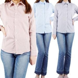 여자셔츠/남방/블라우스/스트라이프/봄/슬림/여성