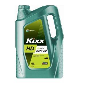 KIXX HD 10W30 CH-4 6L 킥스 디젤엔진오일 (구 DA)