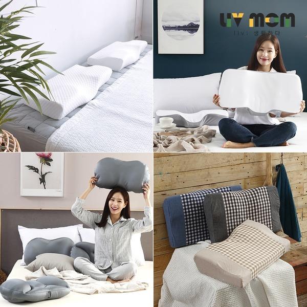 눕자마자 꿀잠~ 초고밀도 메모리폼 경추베개/달콤베개