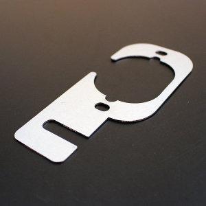 포터2 봉고3 전용 후방카메라 장착 브라켓 아연재질