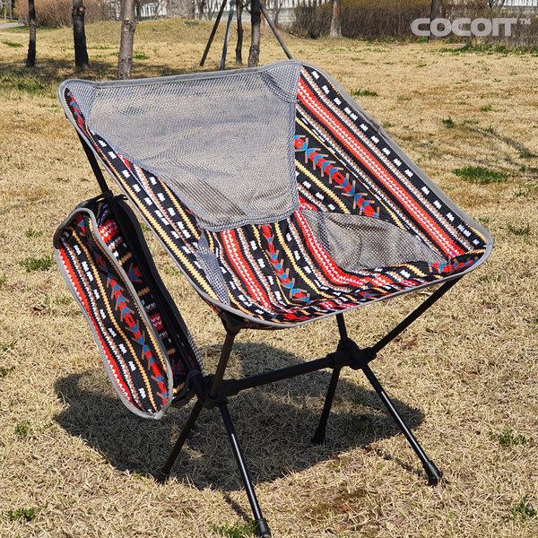 코코아이티 경량 백패킹 캠핑 체어 의자 내하중145kg