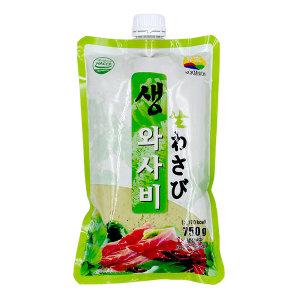 녹미원 생와사비 (생) 750g  고추냉이