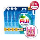 FiJi 토탈케어젤 액체세제 리필 1.5L 4개+300mlx2