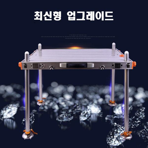 민물 낚시좌대 신형 업그레이드 발판 접이식 800