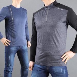 봄 남자 등산 티셔츠 기능성 등산복 작업복 상의 남성