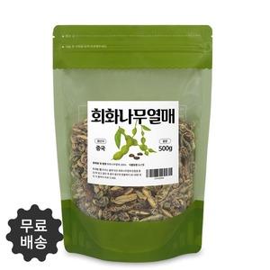 깨끗하게 엄선한 회화나무열매 괴각 500g 1팩 국산회