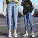 여자여성청바지 밴딩팬츠 빅사이즈 배기바지 jeans 722