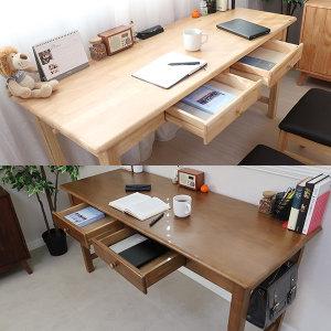 원목책상 1200 1500 1800 컴퓨터책상 테이블 서재책상