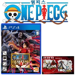 PS4 원피스 해적무쌍4 / 한글판 /초회판