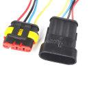 S-HC0015 4P방수 커넥터 케이블 자동차 전기 전원