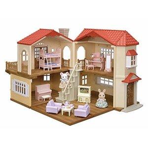 실바니안패밀리 빨간지붕 큰 집 디럭스 세트 19-R12
