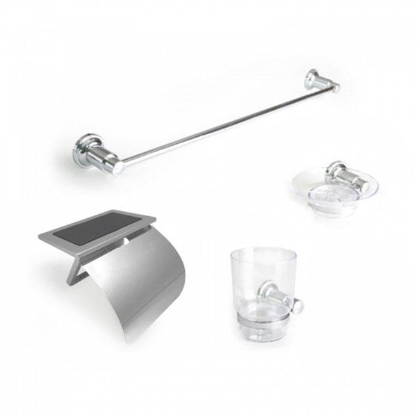 욕실악세사리세트 휴지걸이 휴대폰거치대 수건걸이 컵