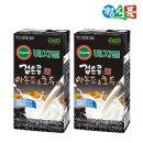 베지밀 검은콩 아몬드와호두 두유 190mlx32팩 인기상품
