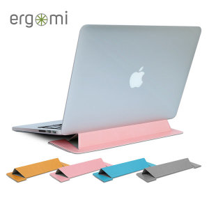 에르고미 플랫스탠드 접이식 노트북 거치대 휴대용