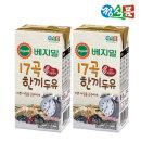 베지밀 17곡 한끼두유 190mlx32팩 신제품