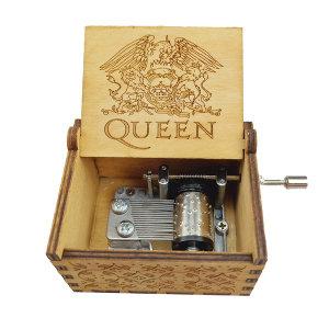 오르골 뮤직박스 퀸 Queen 선물용 크리스마스