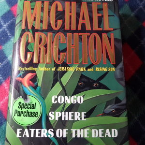 CONGO SPHERE EATERS OF THE DEAD/MACHAEL CRICHTON