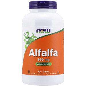 알팔파 자주개자리 650mg 500정 Alfalfa 10