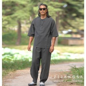 10105 30수7부핀탁티바지 남여공용 생활한복 법복