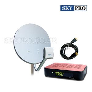 위성방송/60cm안테나 국내 무료위성방송 mini수신세트
